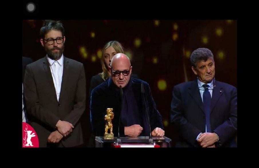 """Fire at Sea"" by Gianfranco Rosi wins the 2016 Golden Bear, Berlin International Film Festival"