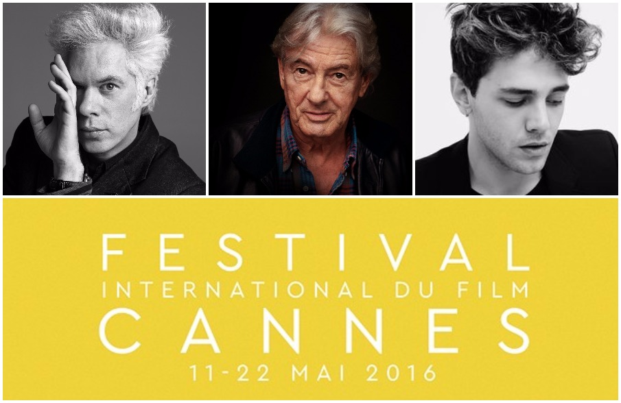 NEWS | New films by Jim Jarmusch, Xavier Dolan and Paul Verhoeven in competition at Cannes 2016.