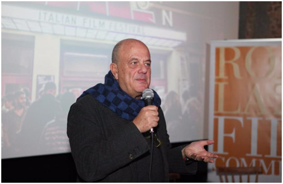 Luciano Sovena, direttore della Roma Lazio Film Commission