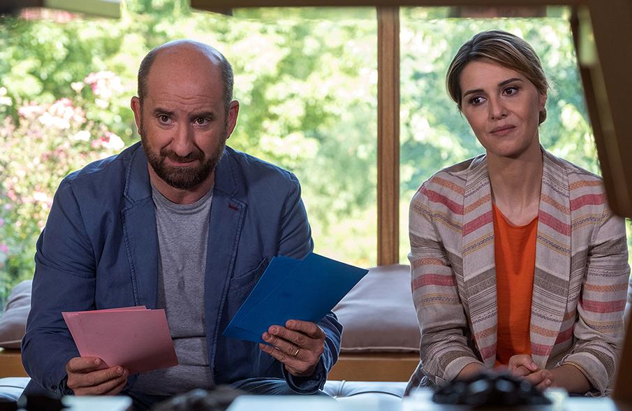 """Paola Cortellesi e Antonio Albanese in """"Mamma o papà?"""" © Claudio Iannone"""