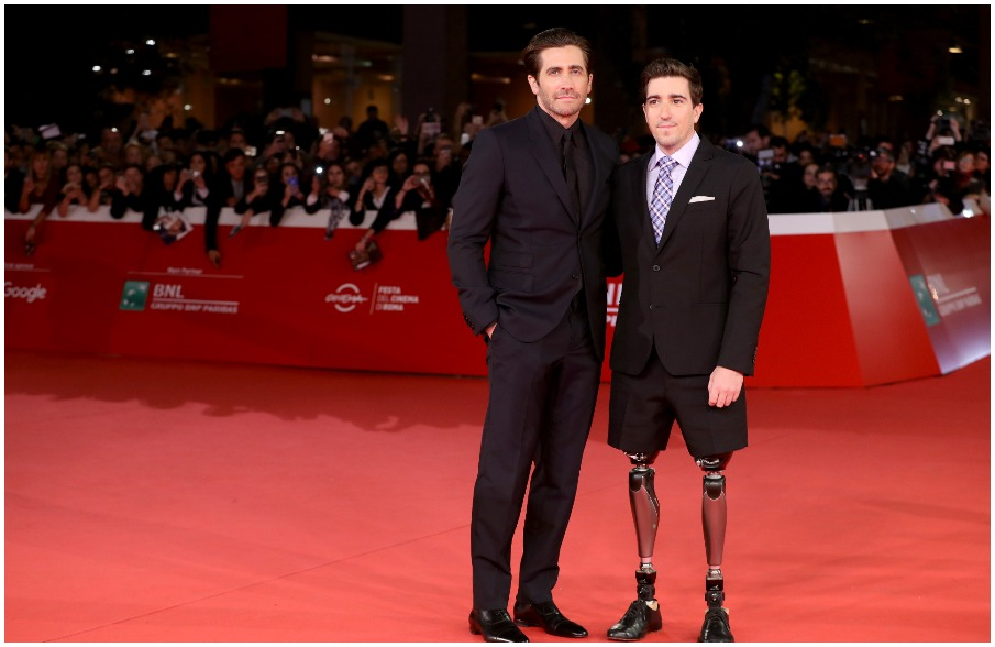 Jake Gyllenhaal, Jeff Bauman - Stronger #RomaFF12