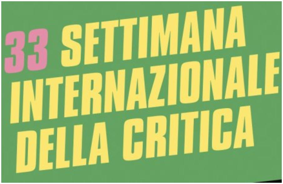 Conferenza stampa di presentazione programma della 33° SIC #Venezia75