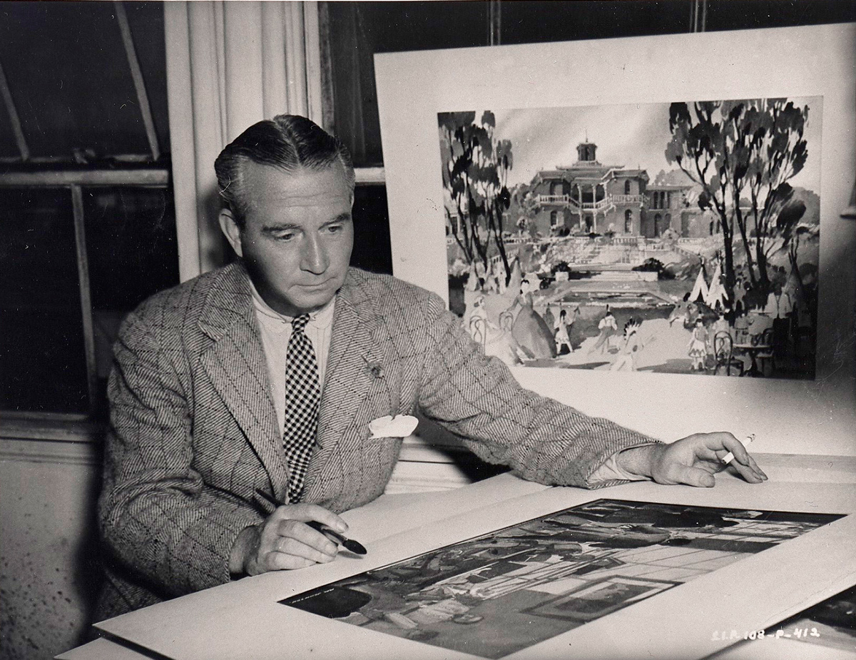 William Cameron Menzies, production designer