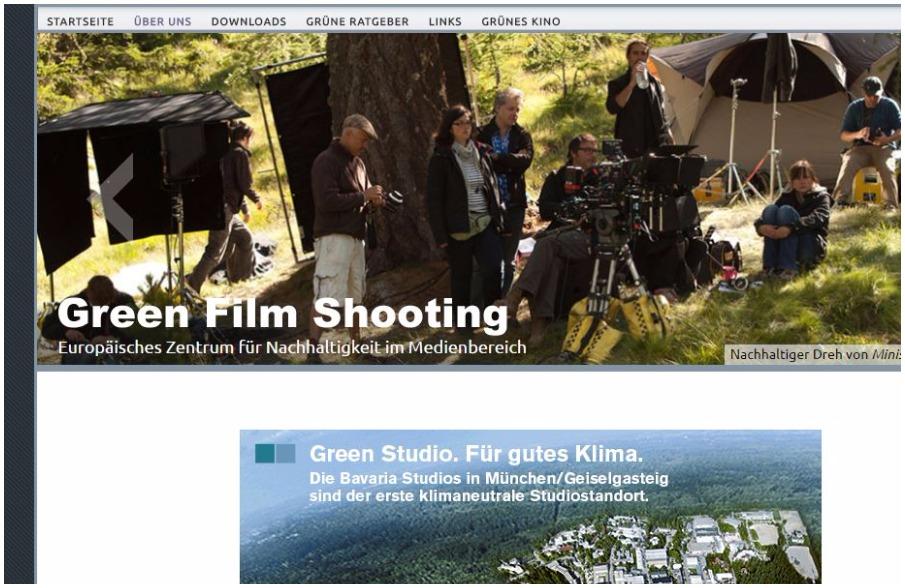 GreenFilmShooting