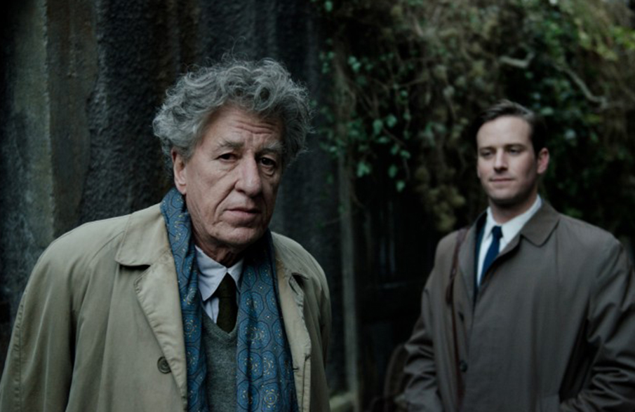 Geoffrey Rush and Armie Hammer in Final Portrait, by Stanley Tucci © Parisa Taghizadeh