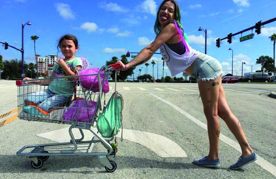 Bria Vinaite - The Florida Project #Cannes2017
