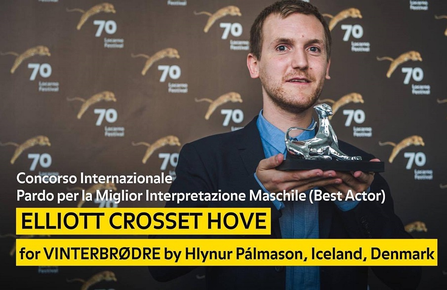 Elliott Crosset Hove - Winter Brothers (Best Actor) #Locarno70