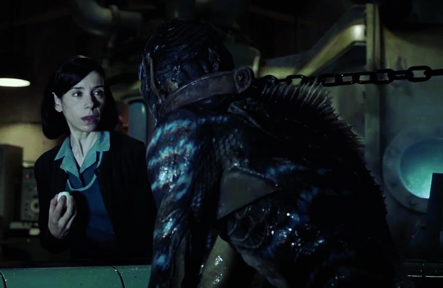 Guillermo Del Toro, Sally Hawkins - The Shape of Water #Venezia74