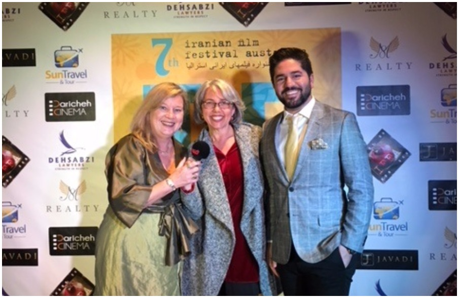 Armin Miladi, Anne Demy-Geroe -  Iranian Film Festival Australia #iffaus
