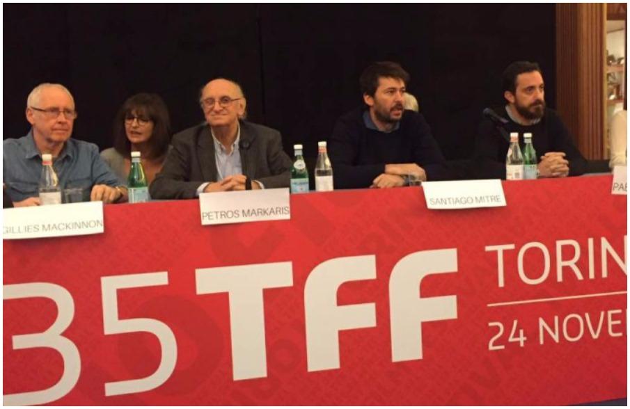 Gillies MacKinnon, Petros Markaris, Santiago Mitre #TFF35