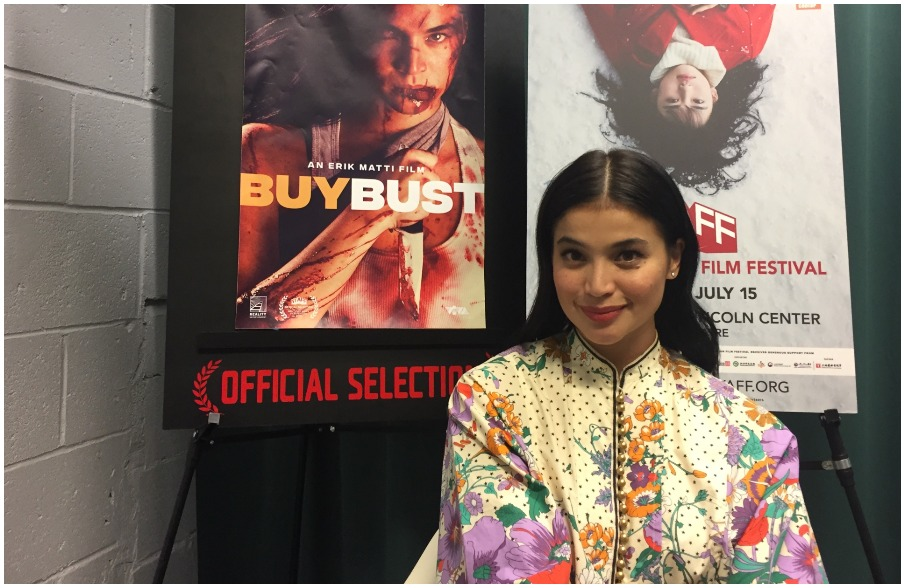 Anne Curtis - BuyBust and Sid & Aya #NYAFF2018