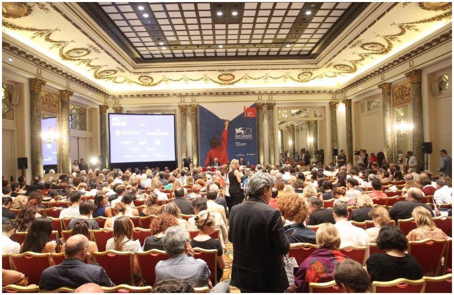 PODCAST | Conferenza stampa di presentazione #Venezia73