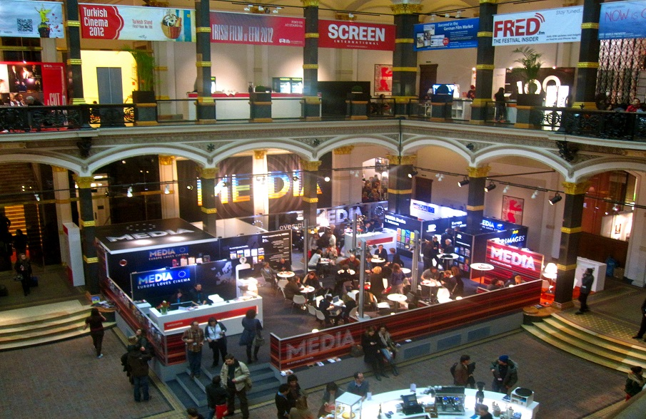 The European Film Market (EFM) is the business platform of the Berlin International Film Festival where new films are presented to potential buyers.
